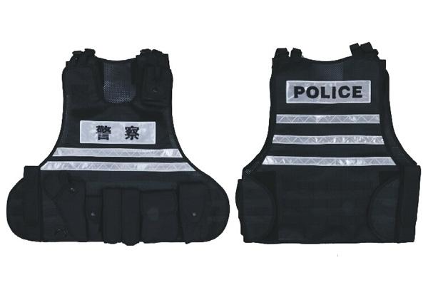 反光型特警战术背心
